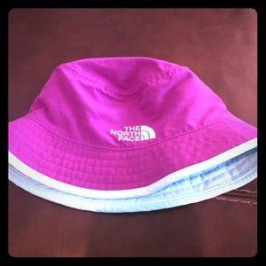 Little Girls North Face Hat